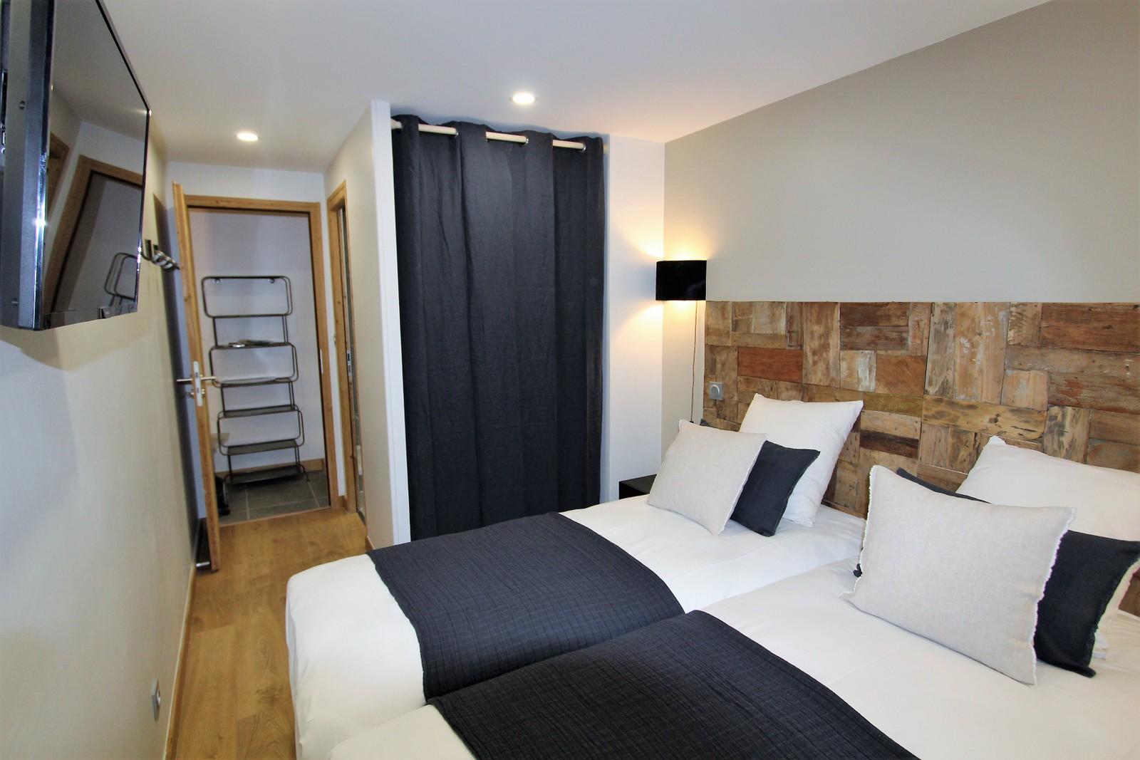 Chambre confort salle de bain individuelle ski chacun sa chambre chacun sa salle de bain cosy