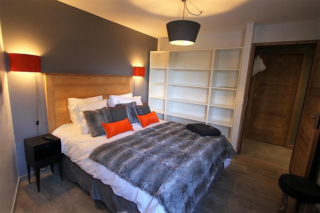 chambre montagne chalet moderne confort