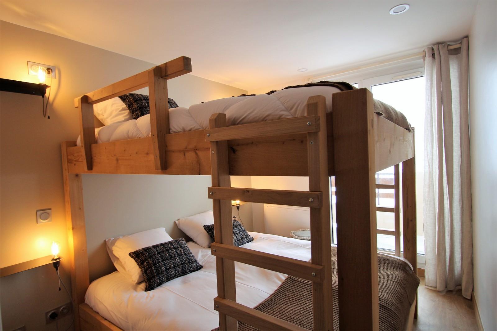 dortoir 4 couchages façon refuge 2 alpes
