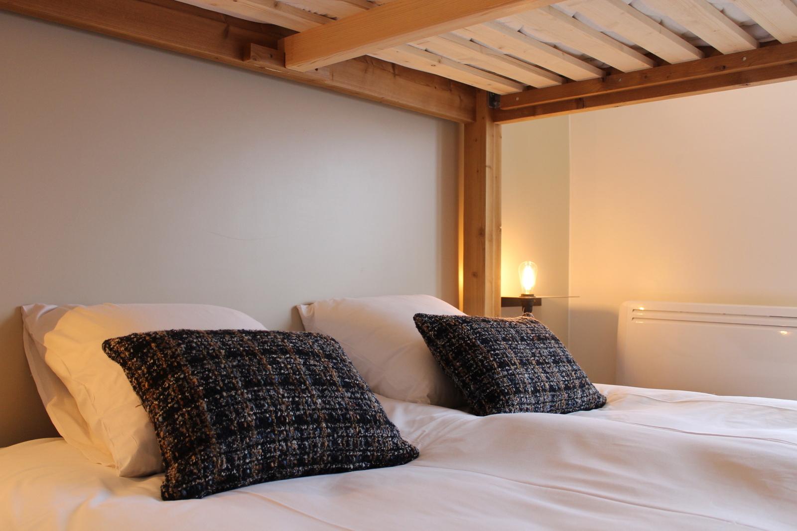 dortoir 4 lits superposés confort salle de bain 2alpes