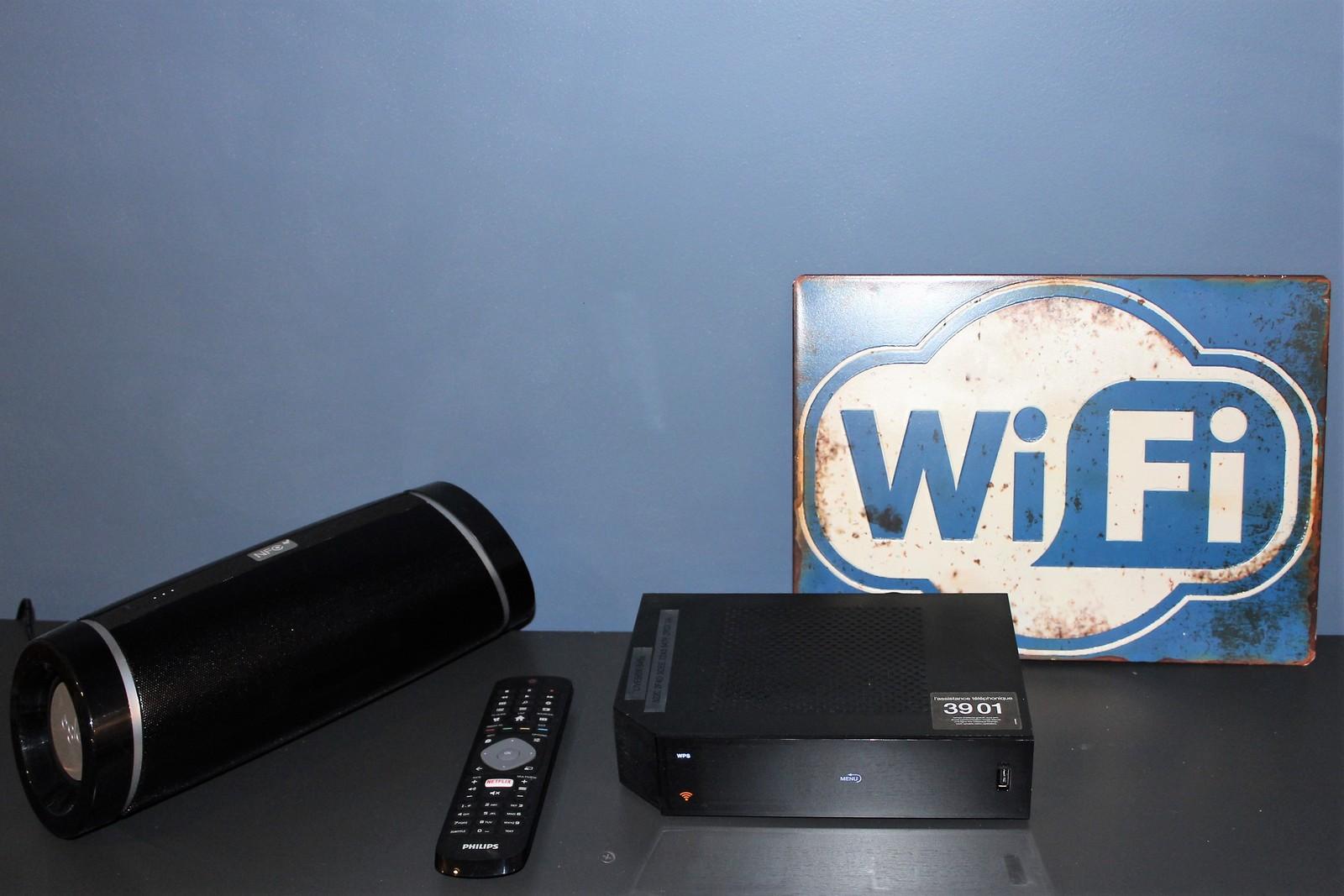 wifi enceinte blutooth box tv les 2 alpes